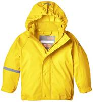 CareTec Giacca impermeabile Unisex bambino, Giallo (Yellow 324), 92